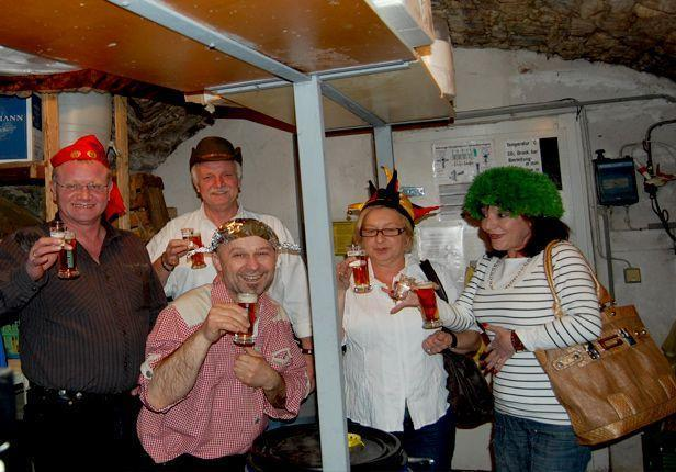 Bierparade_lustige Bierprobe