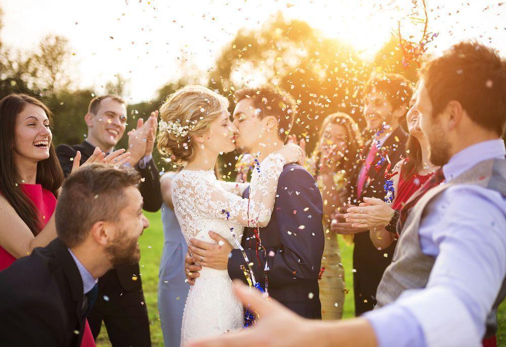 Hochzeit feiern