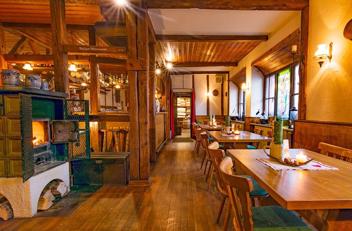 Rustikales Restaurant in Werbach